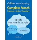 Easy Learning French Complete Grammar, Verbs and Vocabulary (3 books in 1)