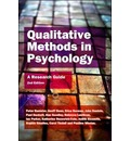 Qualitative Methods In Psychology: A Research Guide