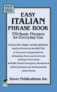 Easy Italian Phrase Book