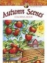 Creative Haven Autumn Scenes Coloring Book