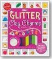 Make Glitter Clay Charms
