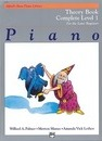 Alfred's Basic Piano Library Theory Complete, Bk 1
