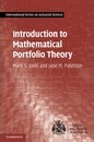 International Series on Actuarial Science: Introduction to Mathematical Portfolio Theory