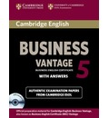 BEC Practice Tests: Cambridge English Business 5 Vantage Self-study Pack (Student's Book with Answers and Audio CDs (2))