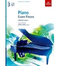 Piano Exam Pieces 2019 & 2020, ABRSM Grade 3, with CD