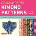Origami Paper Kimono Patterns Small